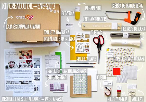 Interior kit caja crealoo