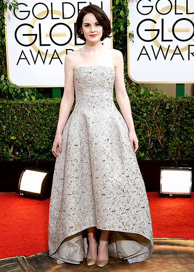 Michelle Dockery in Golden Globes 2014