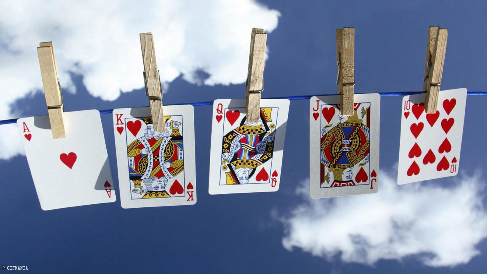 Card cooler poker