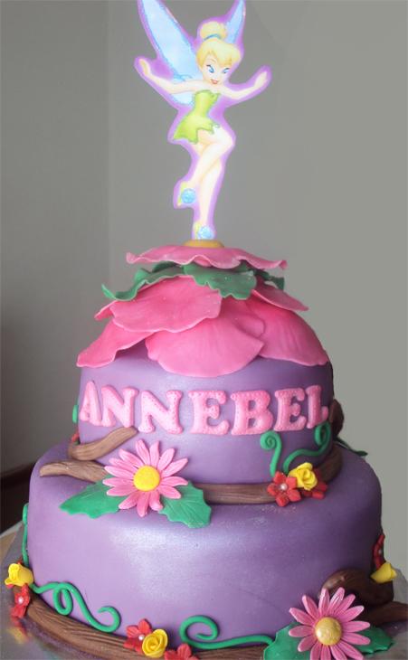Delanas Cakes Tinkerbell Cake