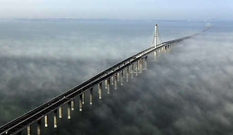 World's Longest Sea Bridge in China_11 Pics