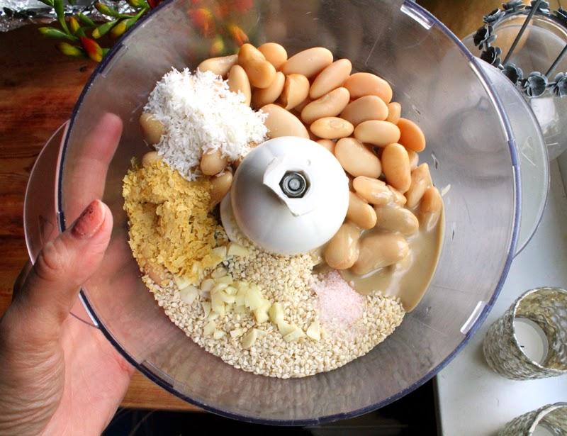 Oppskrift Hjemmelaget Sunt Enkelt Pålegg Bønnepålegg Vegansk Store Hvite Bønner Smørbønner