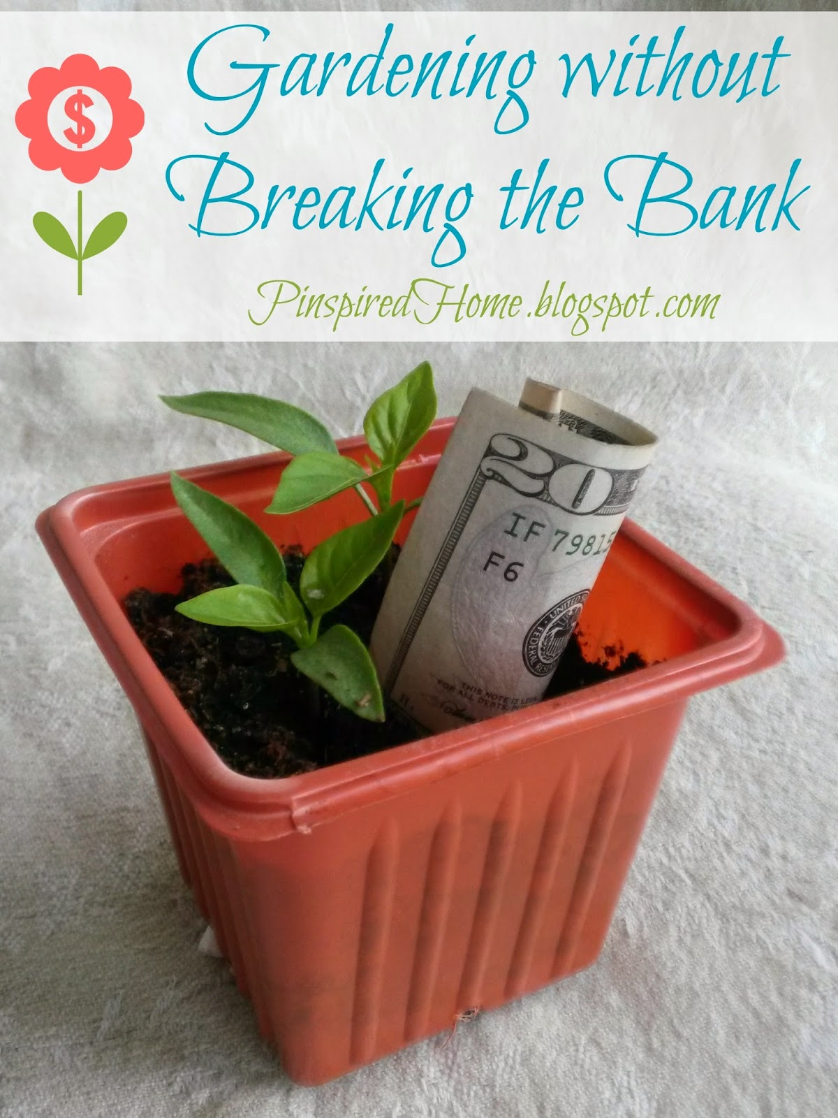 http://pinspiredhome.blogspot.com/2014/05/gardening-without-breaking-bank.html