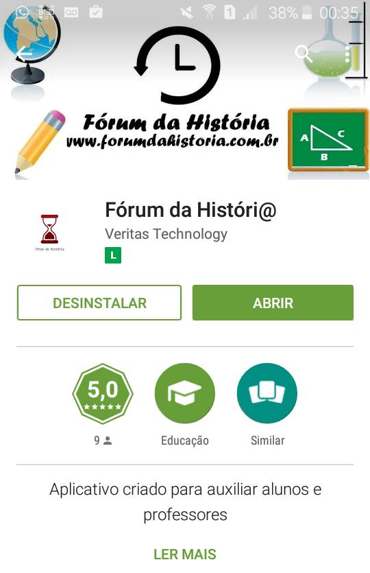 Fórum da Históra mobile