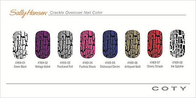 Sally Hansen Crackle Nail Polish