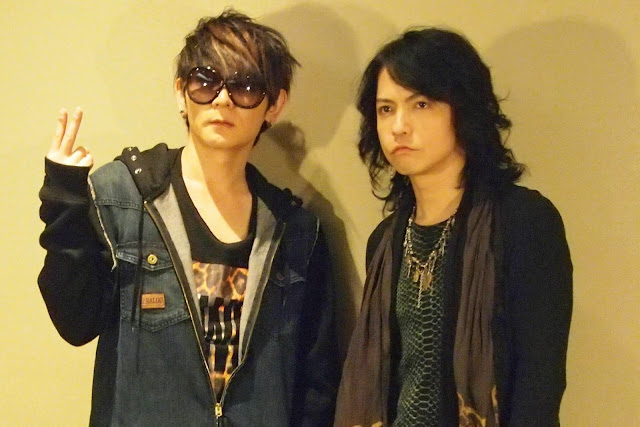 VAMPS duo rock band