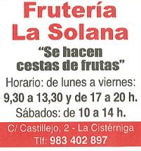 Fruteria La Solana