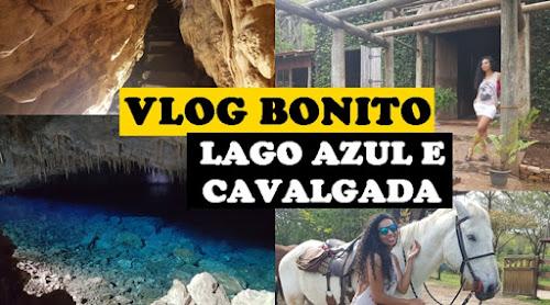 VLOG BONITO - LAGO AZUL, GRUTA SÃO MATEUS, CAVALGADA E COMIDA DIA3
