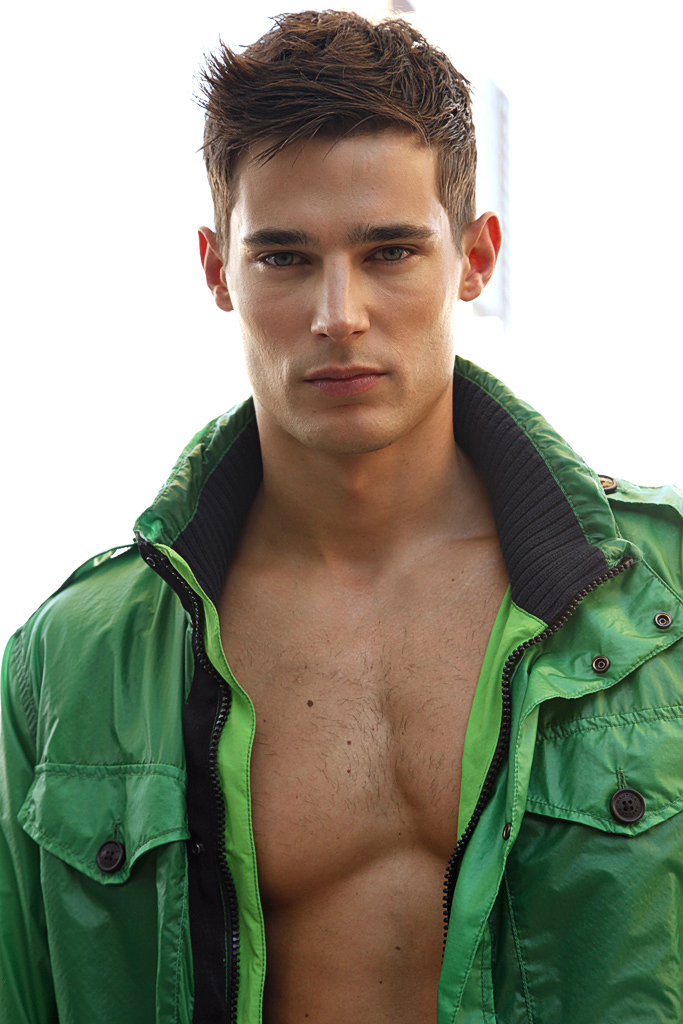 DANNY SCHWARZ, the Most Handsome Male Model