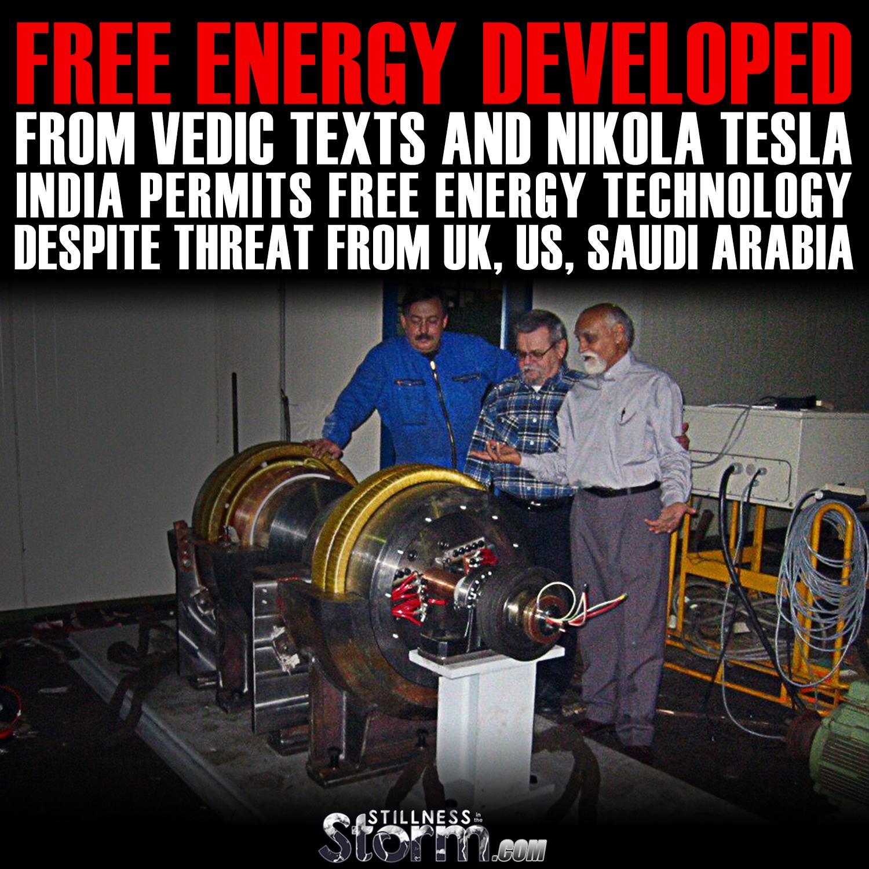 nikola tesla free energy machine