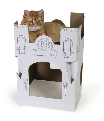 Amazon Cat Cardboard House