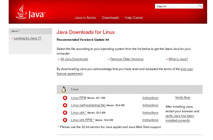 Java 1.6.0 27