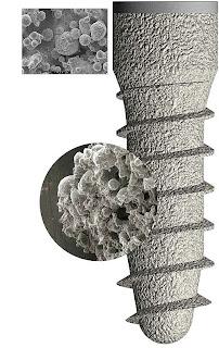 oseointegracion implante dental superficie tratada