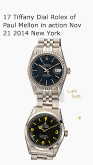Paul Mellon' Tiffany Dial Rolex on Auction