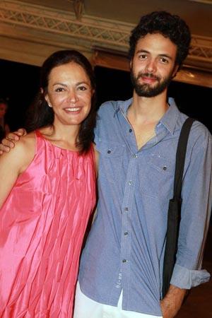 Mai Carvalho e Julio Mariutti.