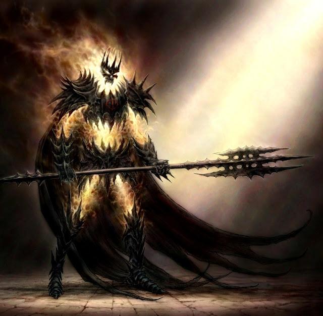 Corpo astral em decomposição, dragoes e magos negros