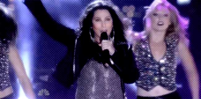 Cher Macy's music performance
