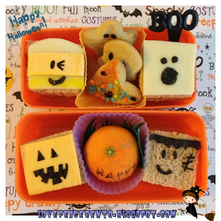 Mini Halloween Sandwiches