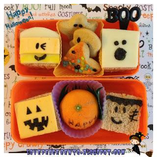 Mini Halloween Sandwiches