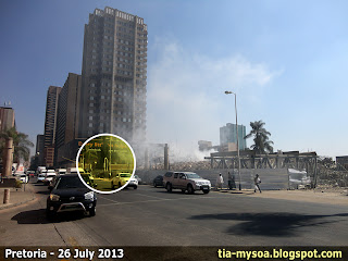 Pretoria's Monument for Victims of Terrorism