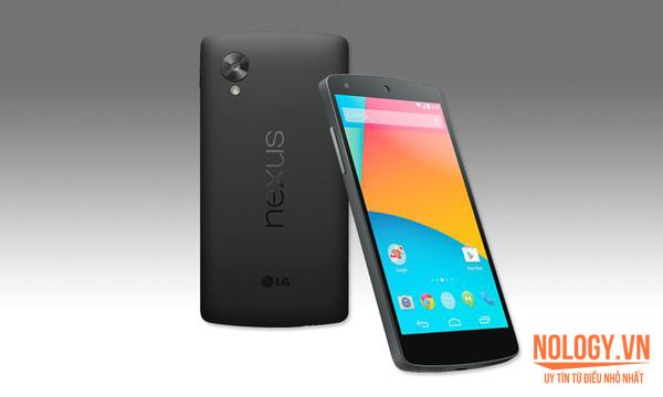 So sánh LG Vu 3 và Google Nexus 5.