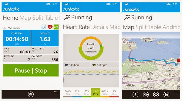 Download Runtastic PRO app for Windows Phone Free