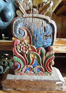 wood carving, Madura, Indonesia