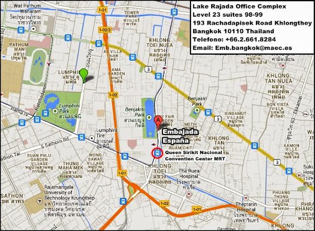 Tailandia-Visados-Trámites-Embajada