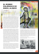 ACERCA DE LA OBRA DE ANGEL ALONSO