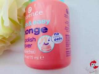 Essence Quick & Easy Sponge Nail Polish Remover - www.annitschkasblog.de
