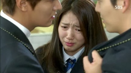 Sinopsis Heirs Episode 8