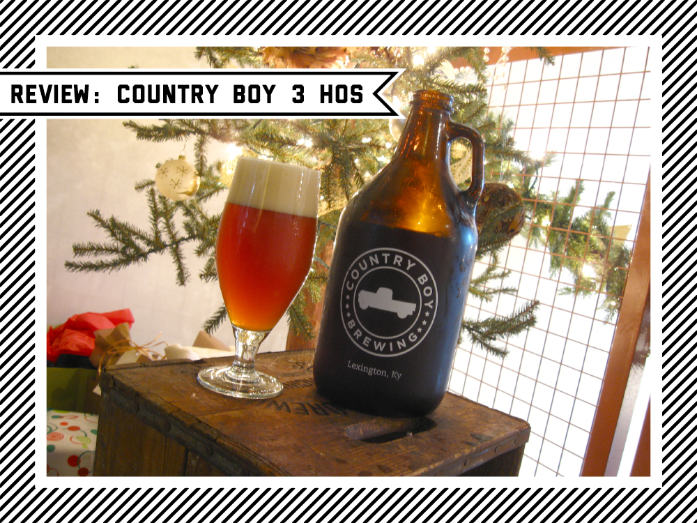 Queen city beer nerd review country boy 3 hos for Things to get a country boy for christmas