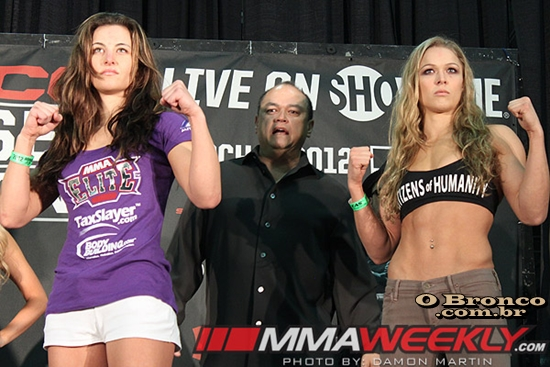Miesha Tate Vs Ronda Rousey 2