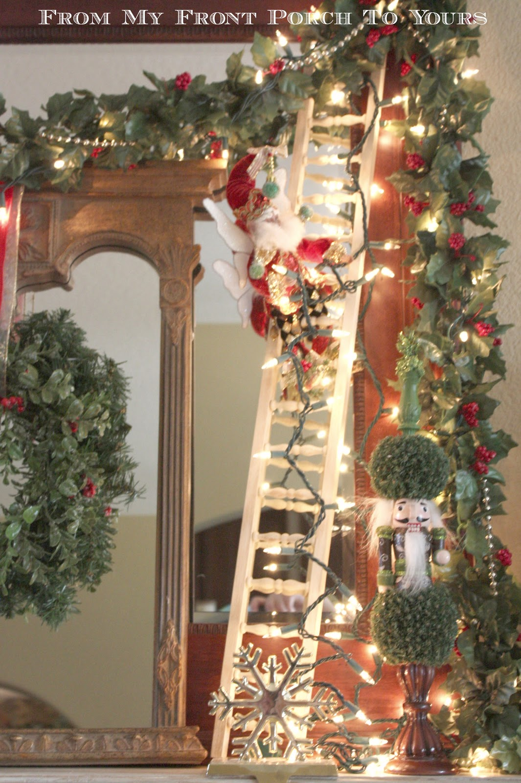 From My Front Porch To Yours Christmas Mantel 2012