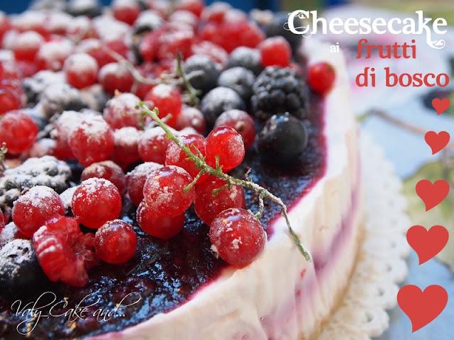 cheesecake quasi light ai frutti di bosco