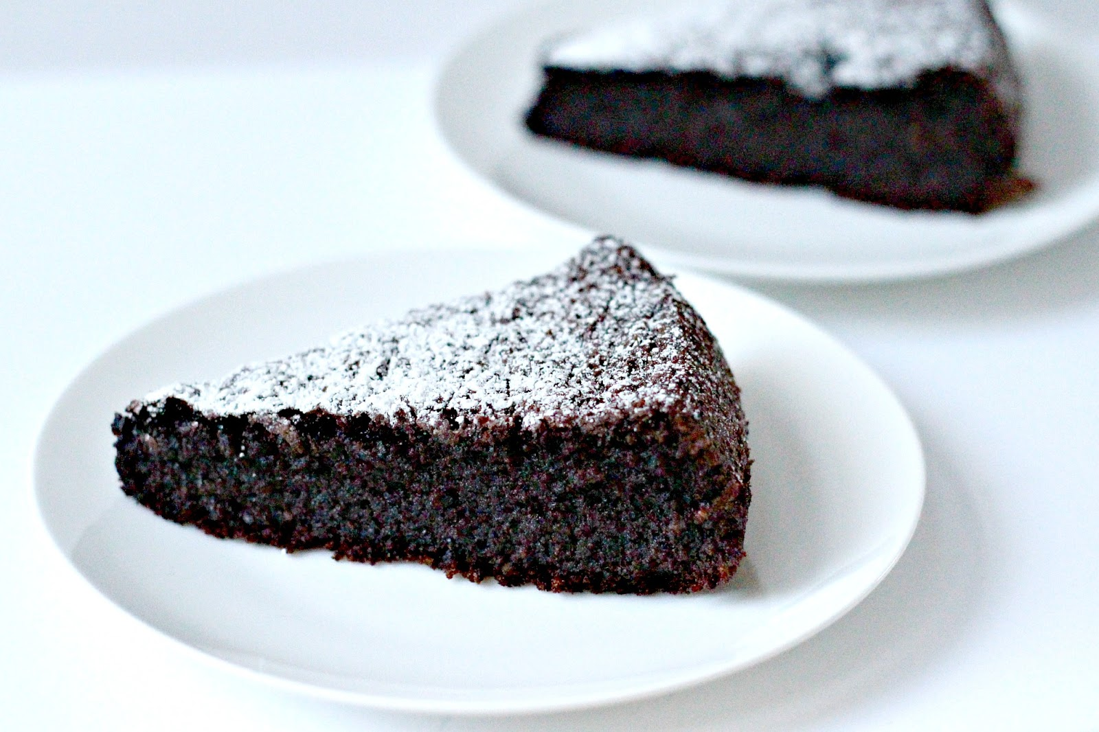 Milk and Honey: Chocolate Olive Oil Cake (Gluten-Free)