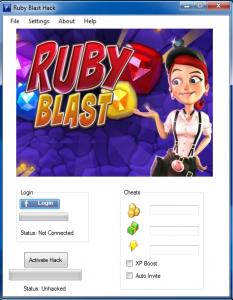 Ruby Blast Cheats and Hack v.1.44
