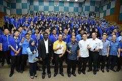 Lawatan kerja rasmi YBM M Kula Segaran ke ILP Selandar, Melaka