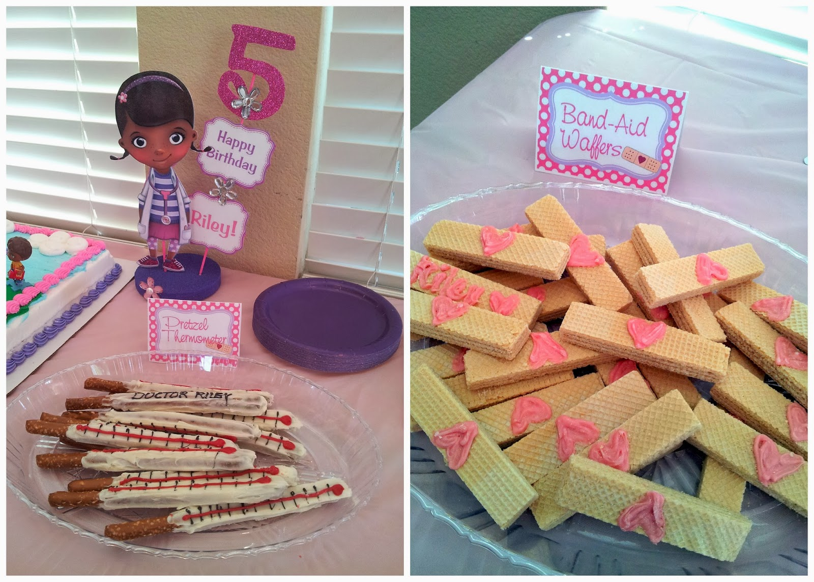 First off I owe our regular Guest Blogger Yajaira Preciado a big acknowledgement. She made these awesome treats and centerpieces that tied right in to the ... & DIY for Mommies: Doc McStuffins Birthday Party