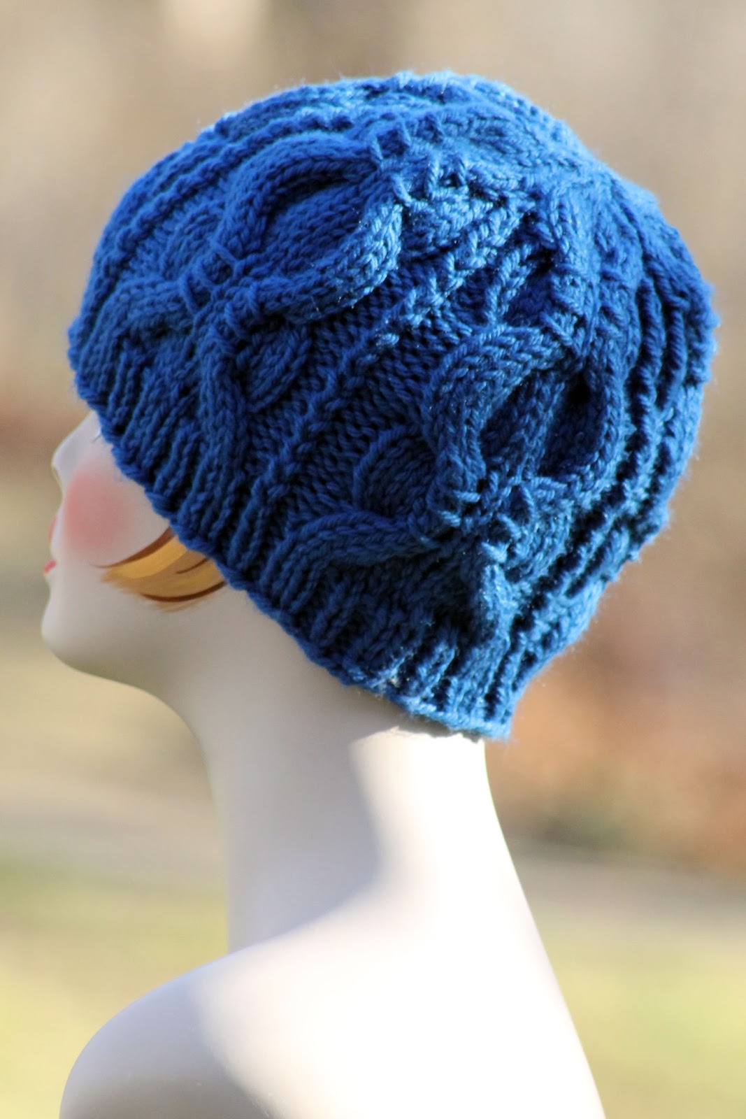 Balls to the Walls Knits: Banded Cable Beanie