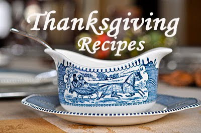 our thanksgiving menu - a look back