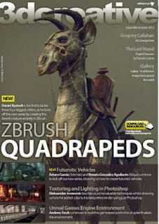 3DCreative Magazine Issue 86 October 2012