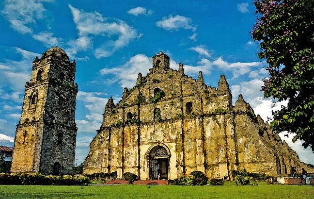 Las antiguas iglesias de filipinas for Churches of baroque period