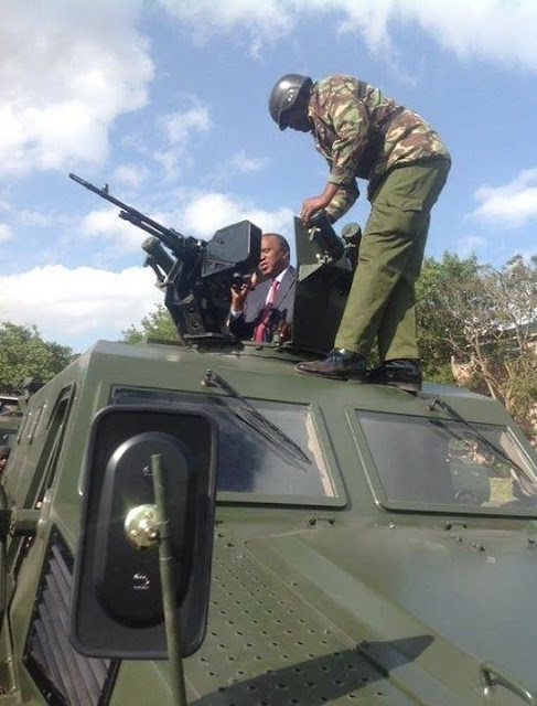 WAR!! Police Force Acquire Sophisticated APCs (Photos)