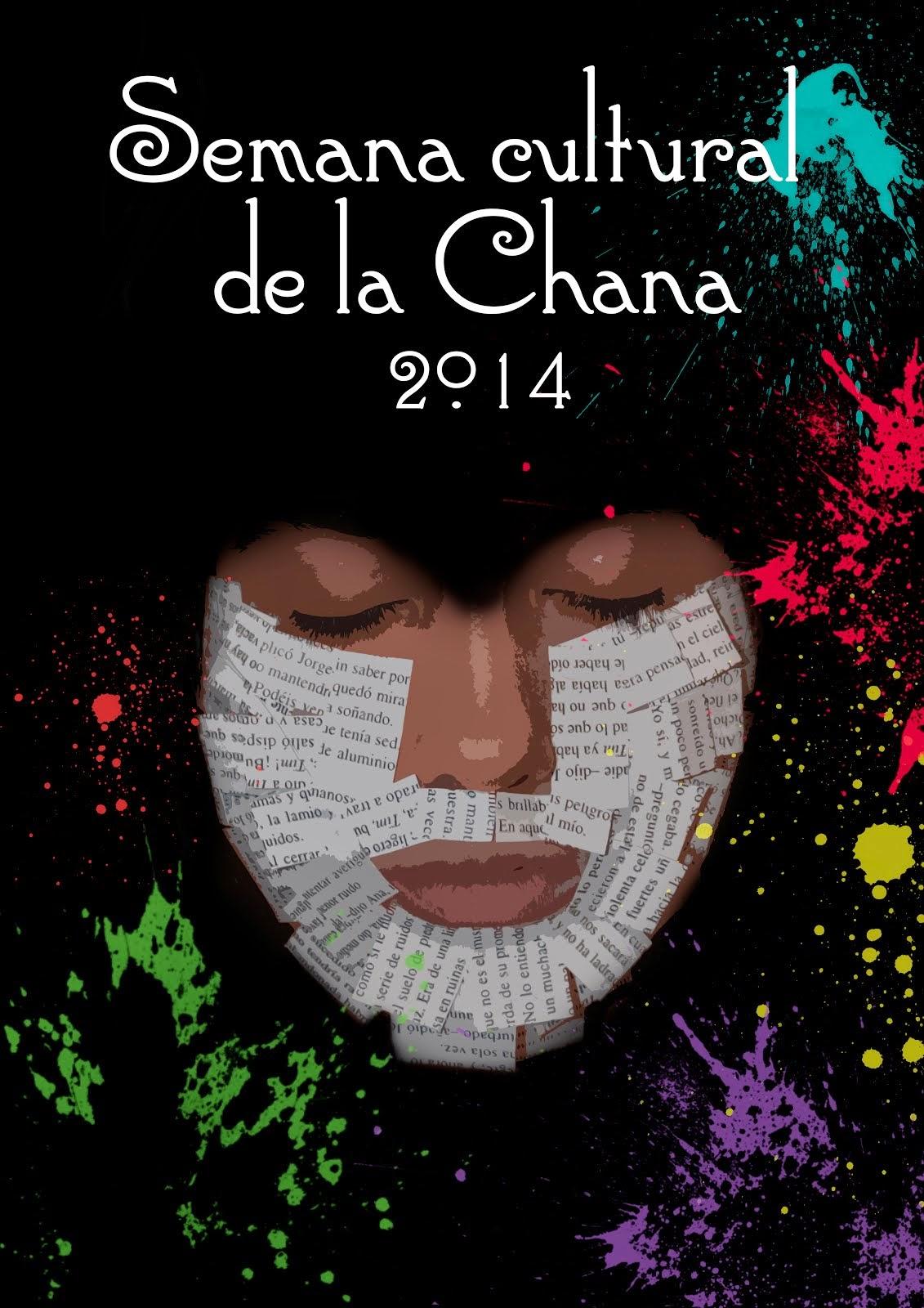 Cartel de la Semana Cultural de La Chana 2014