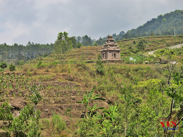 Gedong I at Candi Gedong Songo Java Indonesia