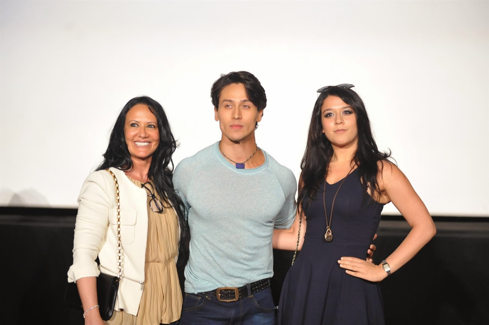 Tiger Shroff at First Look Launch of Heropanti Movie