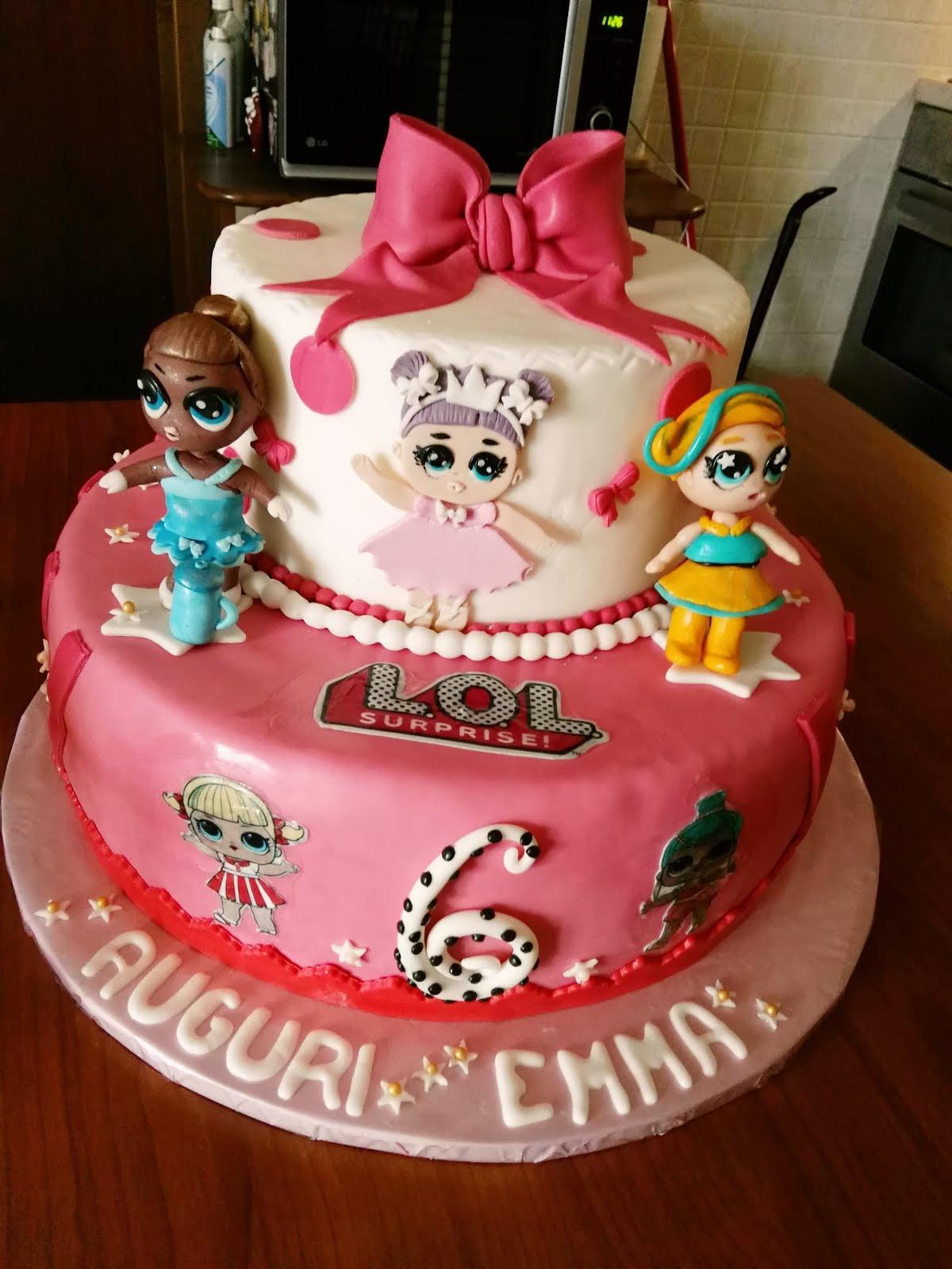 le torte di mari torta lol compleanno emma