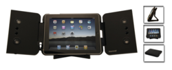 iPad iMainGo XP Ultra-Portable Stereo Speakers & Protective Case