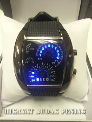 speedometer watch, rpm watch, jam tangan rpm